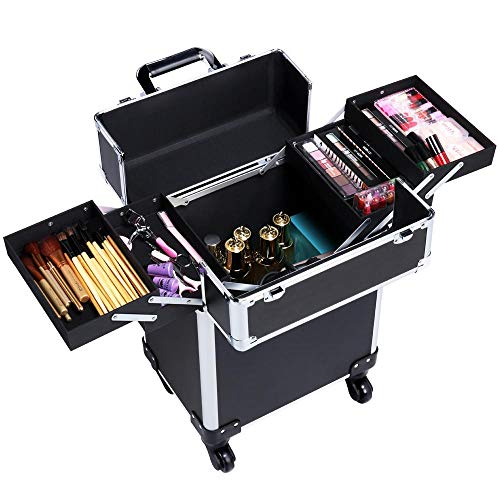 Valise maquillage pro trolley Yaheetech
